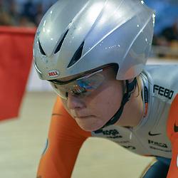 ALKMAAR (NED) wielrennen<br />NK Baanwielrennen ; vrouwen; ; achtervolging; Adrie Visser