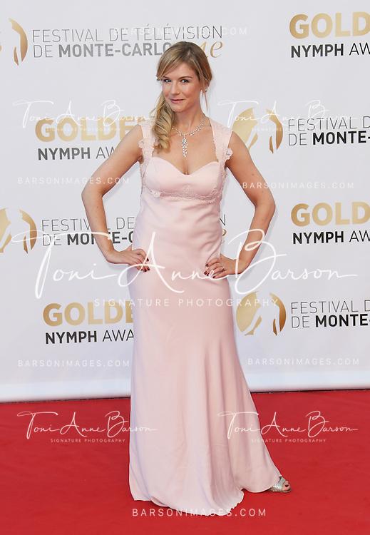 MONTE-CARLO, MONACO - JUNE 11:  Louise Ekland attends the Closing Ceremony and Golden Nymph Awards of the 54th Monte Carlo TV Festival on June 11, 2014 in Monte-Carlo, Monaco.  (Photo by Tony Barson/FilmMagic)