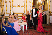 ASYA KOSHKARBAYEVA; ALENA KERESHUN; NATALIA ZHIGULINA; JOLANTA PETREVIC; ILONA BAVKINA; NINA SOFONOVA; ALEXANDER SUSCHENKO; NINA SAFONOVA, The 20th Russian Summer Ball, Lancaster House, Proceeds from the event will benefit The Romanov Fund for RussiaLondon. 20 June 2015