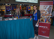 KELOWNA, CANADA - OCTOBER 27:  Moxie's at the Kelowna Rockets game on October 27, 2017 at Prospera Place in Kelowna, British Columbia, Canada.  (Photo By Cindy Rogers/Nyasa Photography,  *** Local Caption ***