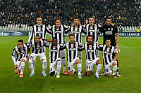 formazione Juventus<br /> Calcio Juventus Nordsjaelland<br /> Champions League - Torino 07/11/2012 Juventus Stadium <br /> Football Calcio 2012/2013<br /> Foto Federico Tardito Insidefoto
