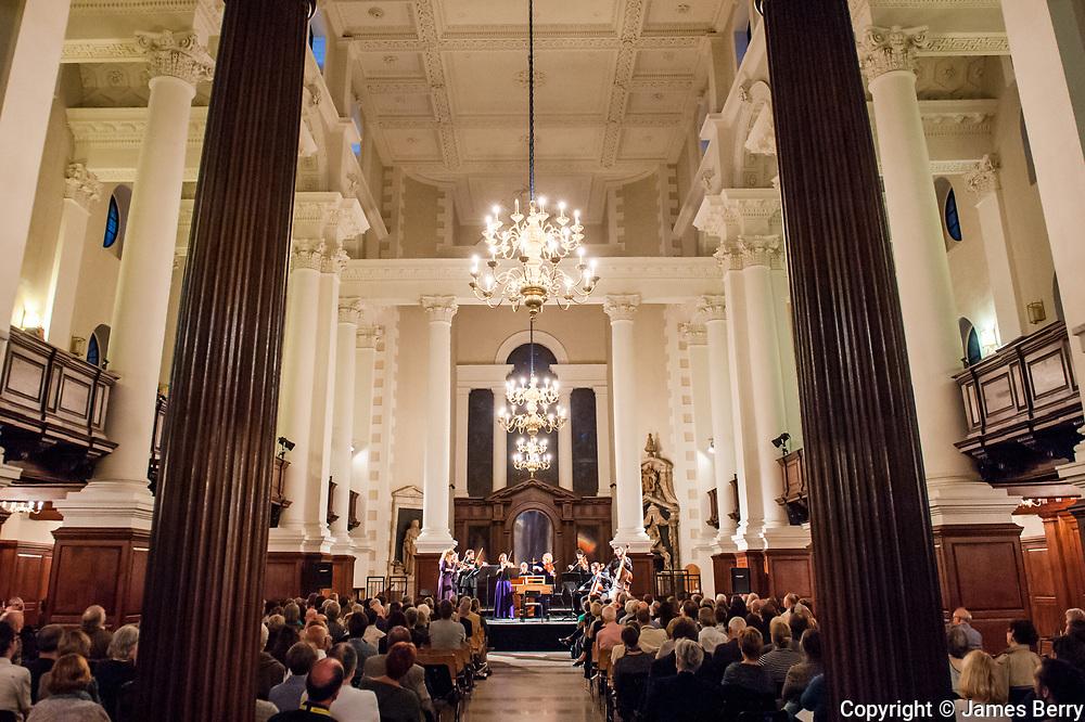 Rachel Podger and Brecon Baroque, Spitalfields Church, Saturday 7 June 2014.