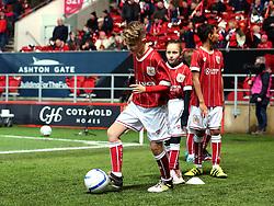 Bristol City mascots - Mandatory by-line: Robbie Stephenson/JMP - 23/01/2018 - FOOTBALL - Ashton Gate Stadium - Bristol, England - Bristol City v Manchester City - Carabao Cup Semi Final second leg