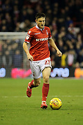 Nottingham Forest midfielder Joe Lolley on the ball during the EFL Sky Bet Championship match between Nottingham Forest and Ipswich Town at the City Ground, Nottingham, England on 1 December 2018.