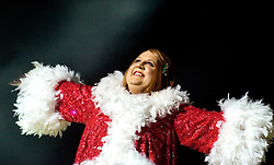 Peter Kay as Geraldine McQueen at Xmas Charity Concert Sheffield City Hall in Aid of Weston Park  Cancer Hospital & Cavendish Cancer Charity Elliot Kennedy and Geraldine McQueen (Peter Kay)..17 December 2008  © Paul David Drabble.www.pauldaviddrabble.co.uk