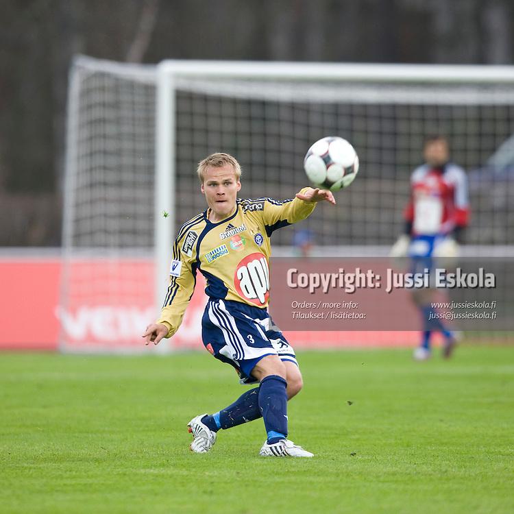 Mikko Hauhia. IFK Mariehamn - HJK. Veikkausliiga. Maarianhamina 28.4.2008. Photo: Jussi Eskola