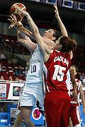 DESCRIZIONE : Riga Latvia Lettonia Eurobasket Women 2009 Qualifying Round Italia Turchia Italy Turkey<br /> GIOCATORE : laura macchi<br /> SQUADRA : Italia Italy<br /> EVENTO : Eurobasket Women 2009 Campionati Europei Donne 2009 <br /> GARA : Italia Turchia Italy Turkey<br /> DATA : 12/06/2009 <br /> CATEGORIA : tiro<br /> SPORT : Pallacanestro <br /> AUTORE : Agenzia Ciamillo-Castoria/E.Castoria