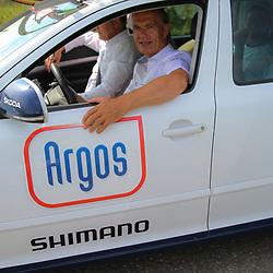 Boels Rental Ladiestour 2013 Papendrecht Sjoerd Koster actief bij Argos-Shimano