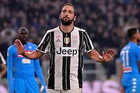 29.10.2016 - Torino - Serie A 2016/17 - 11a giornata  -  Juventus-Napoli  nella  foto: Gonzalo Higuain non esulta dopo il gol