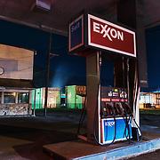Gas Station. Richwood, West Virginia.