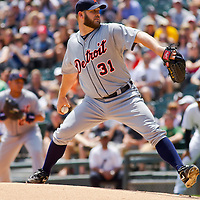 Chicago, IL - June 05, 2011:  Brad Penny (31) pitches against the home team Chicago White Sox at U.S. Cellular Field on June 5, 2011 in Chicago, IL.