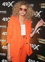 Becca Dudley Cineworld Leicester Square 4DX Gala, London UK, 19 April 2018