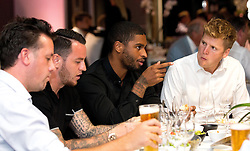 Mark Little and Lee Tomlin of Bristol City mingle with guests during the Lansdown Club event - Mandatory by-line: Robbie Stephenson/JMP - 06/09/2016 - GENERAL SPORT - Ashton Gate - Bristol, England - Lansdown Club -