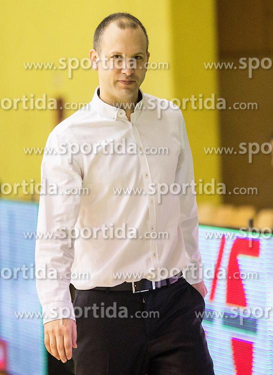 Vladimir Anzulovic, head coach of Krka during basketball match between KK Krka and KK Union Olimpija Ljubljana in 5th Round of Nova KBM Champions League 2015/16, on April 13, 2016 in Sports hall Leon Stukel, Novo mesto, Slovenia. Photo by Vid Ponikvar / Sportida