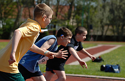 Sporting event for children with disabilities organised by North Tyne Council,UK