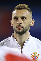 ZAGREB, CROATIA - NOVEMBER 09: Portrait of Marcelo Brozovic of Croatia during the FIFA 2018 World Cup Qualifier play-off first leg match between Croatia and Greece at Maksimir Stadium on November 9, 2017 in Zagreb, Croatia. (Goran Stanzl/PIXSELL)