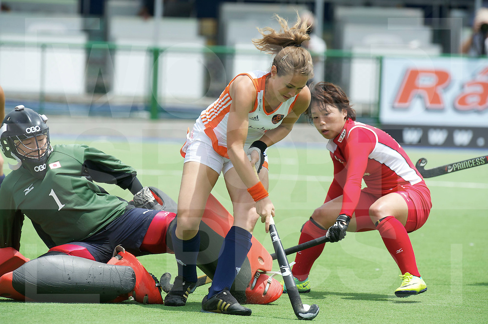ROSARIO - Champions Trophy women.Netherlands v Japan.foto: Sabine Mol..FFU Press Agency  COPYRIGHT FRANK UIJLENBROEK..