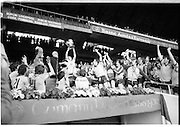 "All Ireland Minor Final..1982.19.09.1982.09.19.1982.19th September 1982..The Dublin Minor Team celebrate the winning of the ""Tom Markham Cup"" in Croke Park..They overcame Kerry 1.11 to 1.05 to win the championship."