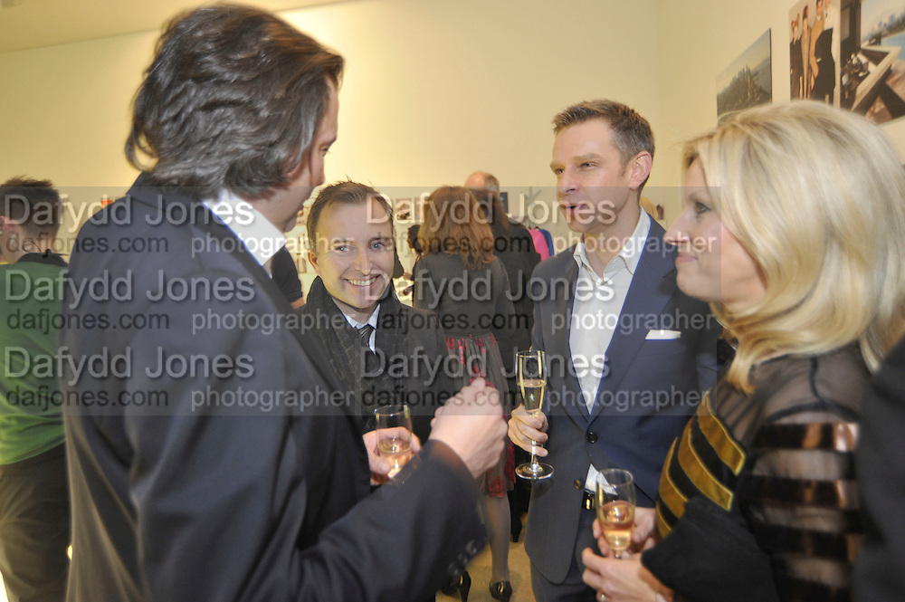 ANTHONY WILKINSON; TONY CHAMBERS; GORD RAY; AMANDA WILKINSON;, Wallpaper* Design Awards. Wilkinson Gallery, 50-58 Vyner Street, London E2, 14 January 2010 *** Local Caption *** -DO NOT ARCHIVE-© Copyright Photograph by Dafydd Jones. 248 Clapham Rd. London SW9 0PZ. Tel 0207 820 0771. www.dafjones.com.<br /> ANTHONY WILKINSON; TONY CHAMBERS; GORD RAY; AMANDA WILKINSON;, Wallpaper* Design Awards. Wilkinson Gallery, 50-58 Vyner Street, London E2, 14 January 2010