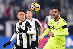 08.01.2017, Juventus Stadium, Turin, ITA, Serie A, Juventus Turin vs FC Bologna, 19. Runde, im Bild Dybala Paulo Exequiel (Juventus F.C.) // Dybala Paulo Exequiel (Juventus F.C.), during the Italian Serie A 19th round match between Juventus Turin and Bologna FC at the Juventus Stadium in Turin, Italy on 2017/01/08. EXPA Pictures © 2017, PhotoCredit: EXPA/ laPresse/ Fabio Ferrari<br /> <br /> *****ATTENTION - for AUT, SUI, CRO, SLO only*****