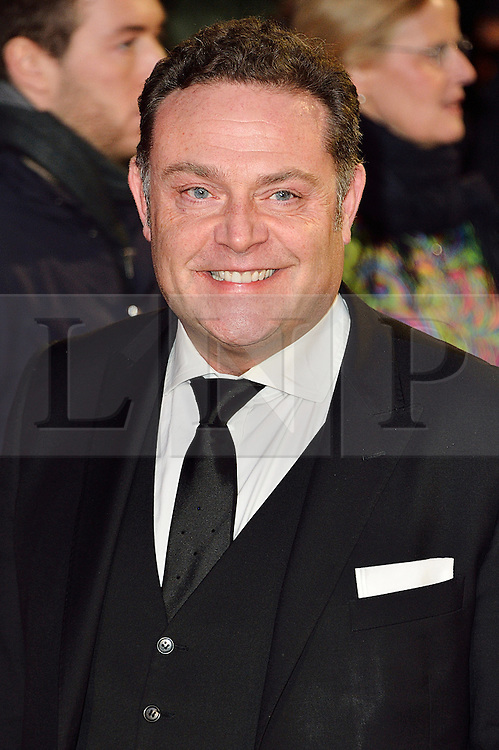 © Licensed to London News Pictures. 22/02/2016. JOHN TOMSON attends the GRIMSBY Film premiere. The film centres around a black-ops spy whose brother is a football hooligan.  London, UK. Photo credit: Ray Tang/LNP