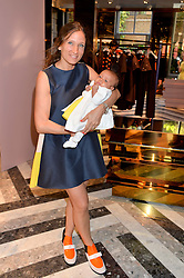 LULU KENNEDY and her daughter Rainbow at the opening of Roksanda - the new Mayfair Store for designer Roksanda Ilincic at 9 Mount Street, London on 10th June 2014.