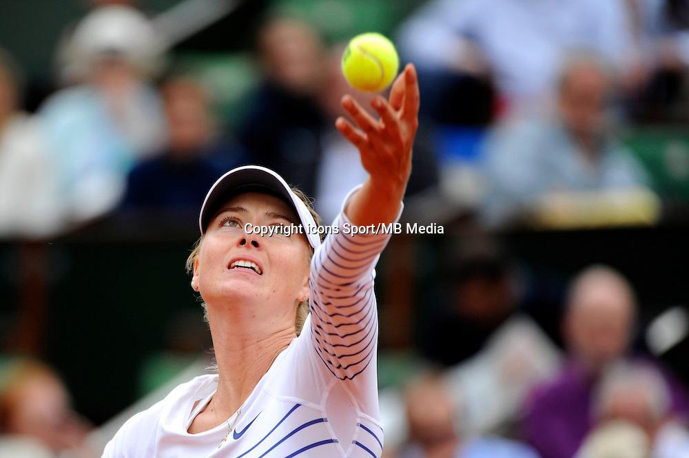 Maria SHARAPOVA  - 29.05.2015 - Jour 6 - Roland Garros 2015<br /> Photo : Nolwenn Le Gouic / Icon Sport