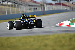 February 18, 2019 - Barcelona, Spain - Australian driver Daniel Ricciardo of French  team Renault F1 Team driving his single-seater RS19 during Barcelona winter test in Catalunya Circuit in Montmel?, Spain, on February 18, 2019. (Credit Image: © Andrea Diodato/NurPhoto via ZUMA Press)