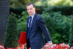 © Licensed to London News Pictures. 04/07/2017. London, UK.  Welsh Secretary ALUN CAIRNS attends a cabinet meeting in Downing Street, London on Tuesday, 4 July 2017.Photo credit: Tolga Akmen/LNP