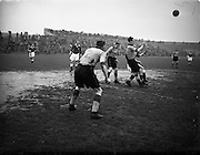29/4/1953<br /> 4/29/1953<br /> 29 April 1953 <br /> FAI Cup Final Replay Cork Athletic v Evergreen at Dalymount Park, Dublin. Cork Athletic won the replay 2-1.