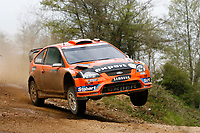 MOTORSPORT - WRC 2010 - RALLY OF TURKEY - <br /> ISTANBUL (TUR) - 15 TO 18/04/2010 - PHOTO : ALEXANDRE GUILLAUMOT / DPPI <br /> HENNING SOLBERG (NOR) / ILKA MINOR (AUT) - STOBART M-SPORT FORD RALLY TEAM - FORD FOCUS WRC 08 - ACTION