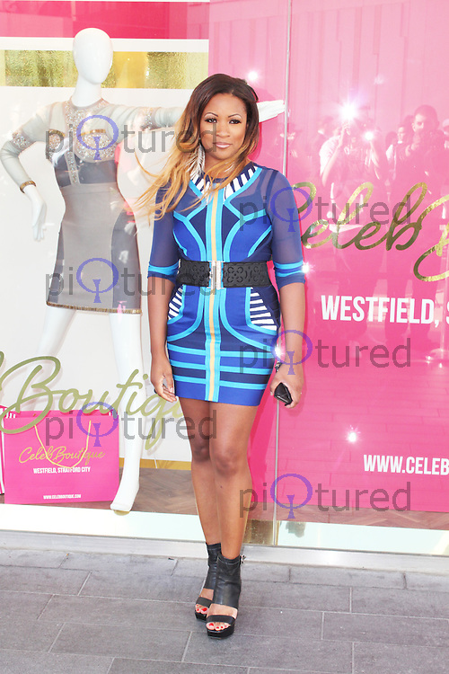 Celena Cherry, Celeb Boutique - Store Launch Party, Westfield Stratford City, London UK, 25 July 2013, (Photo by Brett Cove)