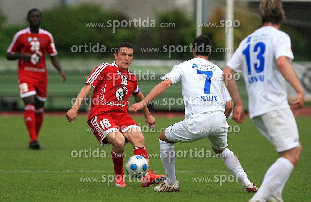 Darijan Matic  of Interblock  at 29th Round of Slovenian First League football match between NK Interblock and NK Primorje at ZAK Stadium, on April 20, 2009, in Ljubljana, Slovenia. (Photo by Vid Ponikvar / Sportida)