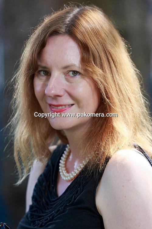 Edinburgh. UK. 17th August. Edinburgh International Book Festival. Ruth Scurr pictured during Edinburgh Book Festival.