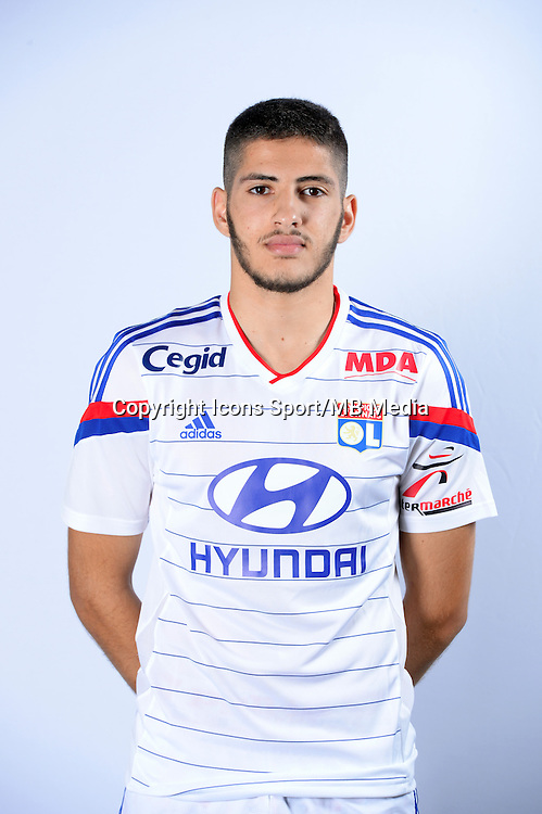 Yassine BENZIA - 17.09.2014 - Portrait Officiel - Lyon<br /> Photo : Icon Sport