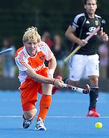 UTRECHT - Klaas Vermeulen van Oranje ,zaterdag tijdens de  hockey interland tussen de mannen van Nederland en Duitsland (4-2). COPYRIGHT KOEN SUYK