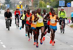 Kogei, Kipkoech compete during 21km and 42km run at 19th Ljubljana Marathon 2014 on October 26, 2014 in Ljubljana, Slovenia. Photo by Vid Ponikvar / Sportida.com
