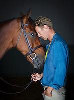OS-silvermedaljören Peder Fredricson med hästen All in.