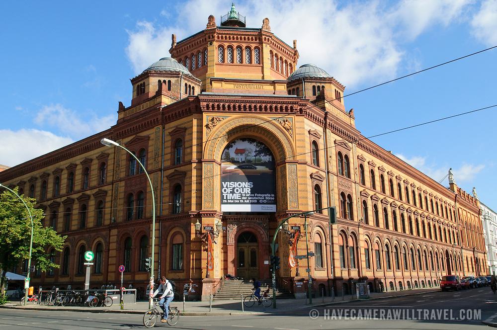 Centrum Judaicum (Jewish Synagogue) in Berlin, on Oranienburger Strasse