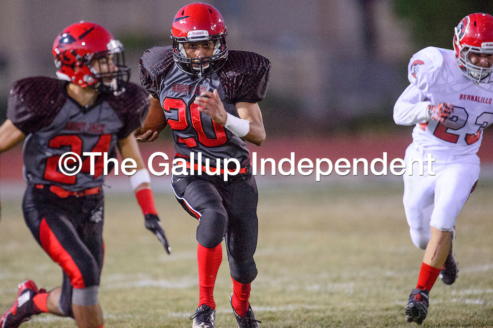 Grants V Bernalillo Football 092515 Gallup Independent