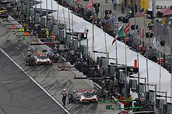 January 27, 2018 - Daytona, FLORIDE, ETATS UNIS - 7 ACURA TEAM PENSKE (USA) ACURA DPI HELIO CASTRONEVES (BRA) RICKY TAYLOR (USA) GRAHAM RAHAL  (Credit Image: © Panoramic via ZUMA Press)