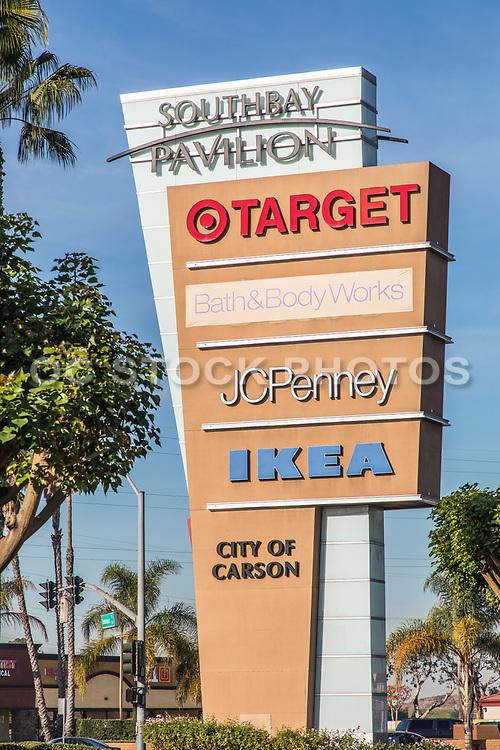 South Bay Pavilion Signage