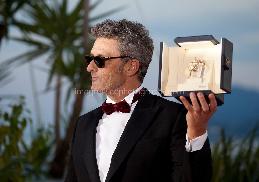 Director Pawel Pawlikowski, winner of the the Best Director prize for the film Zimna Wojna (Cold War) at the Award Winner's photo call at the 71st Cannes Film Festival, Saturday 19th May 2018, Cannes, France. Photo credit: Doreen Kennedy
