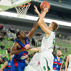 20151220: SLO, Basketball - ABA League 2015/16, KK Union Olimpija vs Igokea Aleksandrovac