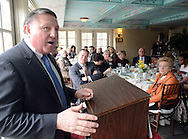 BUCKINGHAM, PA - MARCH 25:  Edward Hanko, FBI Special Agent in Charge of the Philadelphia division speaks at the Central Bucks Chamber of Commerce quarterly CEO Global Briefing, an invitation-only event for high-level executives and business owners at The Inn at Barley Sheaf Farm March 25, 2014 in Buckingham Pennsylvania. (Photo by William Thomas Cain/Cain Images)