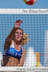 23-08-2019 NED; DELA NK Beach Volleyball Qualification, Scheveningen<br /> First day NK Beachvolleyball / Suzanne van Heyningen