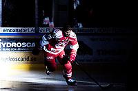 2019-01-05 | Ljungby, Sweden: Troja-Ljungby (13) Tobias Törnkvist during intro before the game between Troja Ljungby and Tranås AIF at Ljungby Arena ( Photo by: Fredrik Sten | Swe Press Photo )<br /> <br /> Keywords: Icehockey, Ljungby, HockeyEttan, Troja Ljungby, Tranås AIF, Ljungby Arena, AllEttan Södra