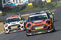 #0 Lawrence DAVEY Mini JCW  during MINI Challenge - JCW  as part of the MSVR MINI Festival at Oulton Park, Little Budworth, Cheshire, United Kingdom. July 21 2018. World Copyright Peter Taylor/PSP. Copy of publication required for printed pictures.