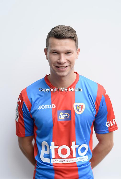 Gliwice 05.08.2016<br /> Pilka nozna. Lotto Ekstraklasa. Sesja.<br /> n/z. Mateusz Mak .