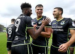 Ellis Harrison of Bristol Rovers celebrates with teammates after scoring a goal to make it 2-0 - Mandatory by-line: Robbie Stephenson/JMP - 07/10/2017 - FOOTBALL - Sixfields Stadium - Northampton, England - Northampton Town v Bristol Rovers - Sky Bet League One